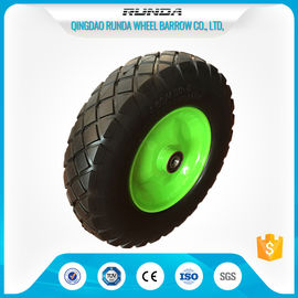 China Heavy Duty Trolley Pneumatic Wheels Ubber Casing Ball Bearing 150-300kg Loading supplier