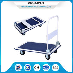 China Transportation Platform Hand Truck 8.4Kg , Folding Flatbed Cart 4 Inch Wheel supplier