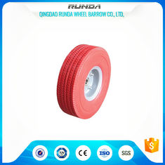 China Tubeless Trolley Foam Filled Wheelbarrow Tires 6204 Bearing 16mm Inner Hole supplier