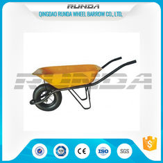 China Metal Bracket Heavy Duty Wheelbarrow , Lightweight Garden Cart OEM Avaliable supplier