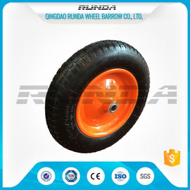 "China 13"" Light Duty Pneumatic Dolly Wheels 3.25/3.00-8 16mm Axle Hole Centered Hub TUV supplier"
