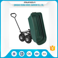 China Landscape Utility Garden Mesh Cart Platform Structure 150kgs Load For Yard Waste supplier