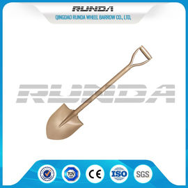 China D Type Carbon Steel Spade Shovel S503 Round Nose 1.5kg Power Coated Painting supplier