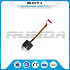 China Long Handle Garden Spade Shovel Good Hardness Multifunction 225x295x1020mm supplier