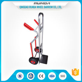 China Solid Hand Truck Dolly Four Tires , Steel Heavy Duty Hand Truck 10x3.00-4 Wheel supplier