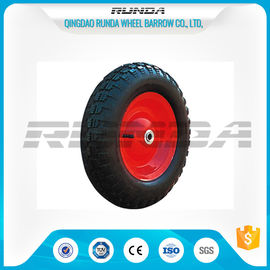 China Comb Pattern Air Heavy Duty Rubber Wheels 3.50-8 TR13 Valve For Tool Carts supplier