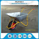 China Metal Bracket Big Wheel Wheelbarrow 200kg Load 32x1.2mm Frame Thickness For Yard factory