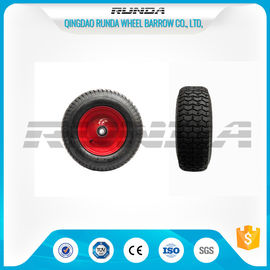 "China Pneumatic Heavy Duty Rubber Wheels 16"" , Replacement Trolley Wheels Anti Skidding factory"