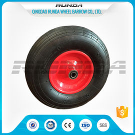 China Line Pattern Heavy Duty Dolly Wheels 16 Inch Centered Hub 150kg Loading Capacity factory